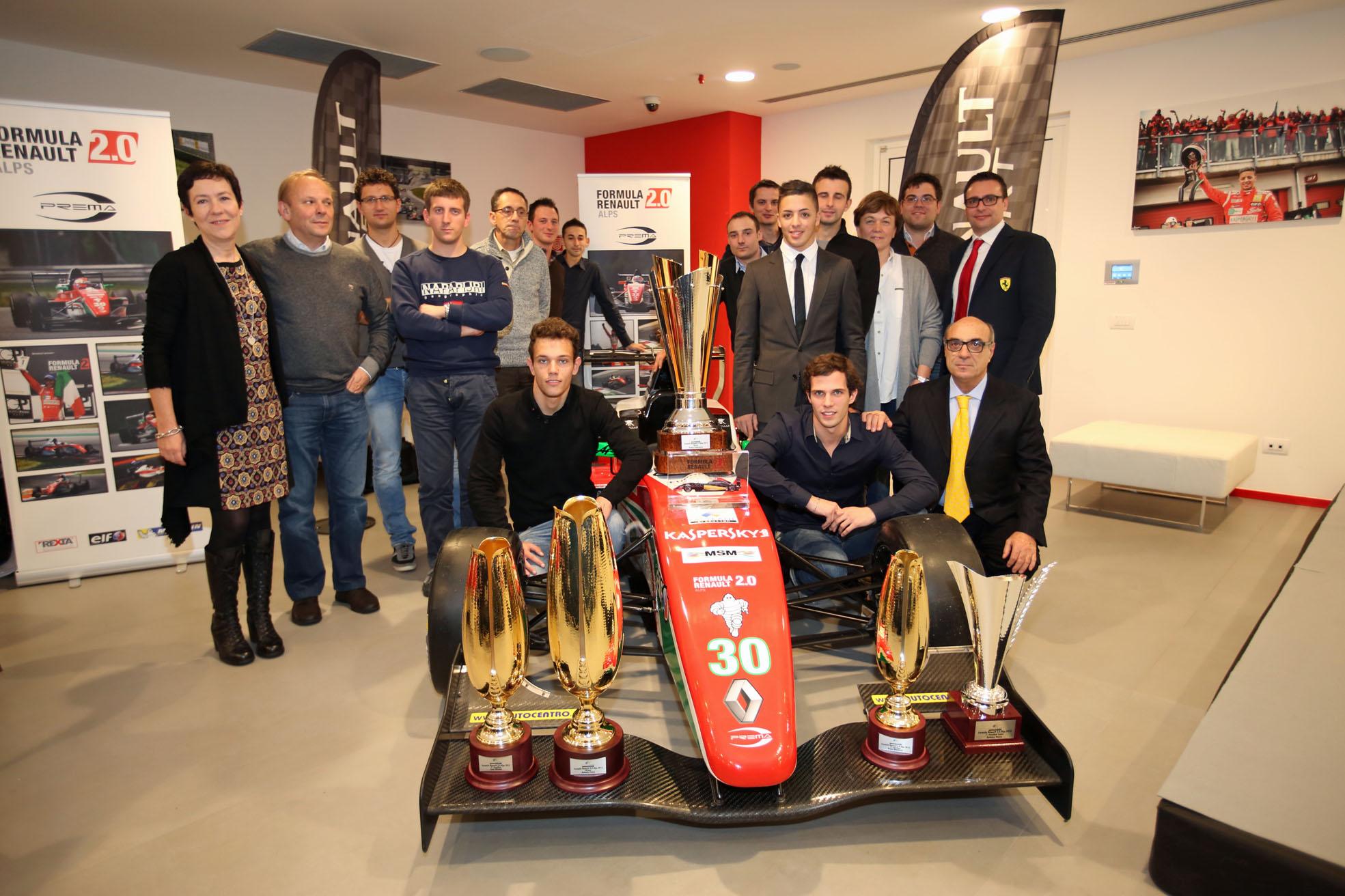 Festa per i Campioni F.Renault 2.0 Alps e Clio Cup Italia