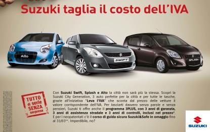 Suzuki Automobili: le promozioni continuano