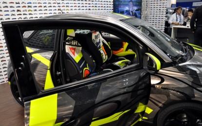 Valentino, Opel Adam e Dainese per i bambini