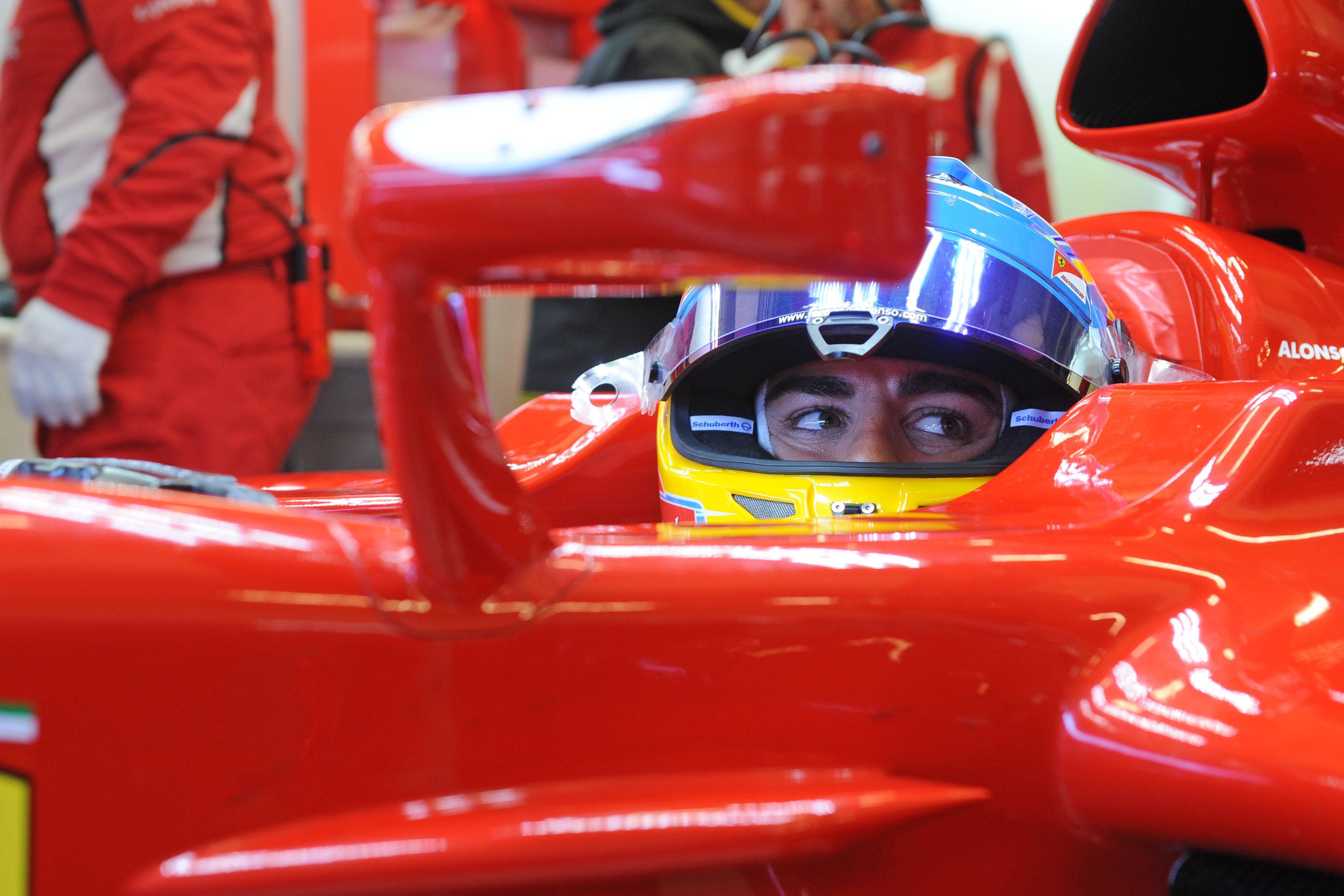 Alonso, primo assaggio (simulato) del 2014