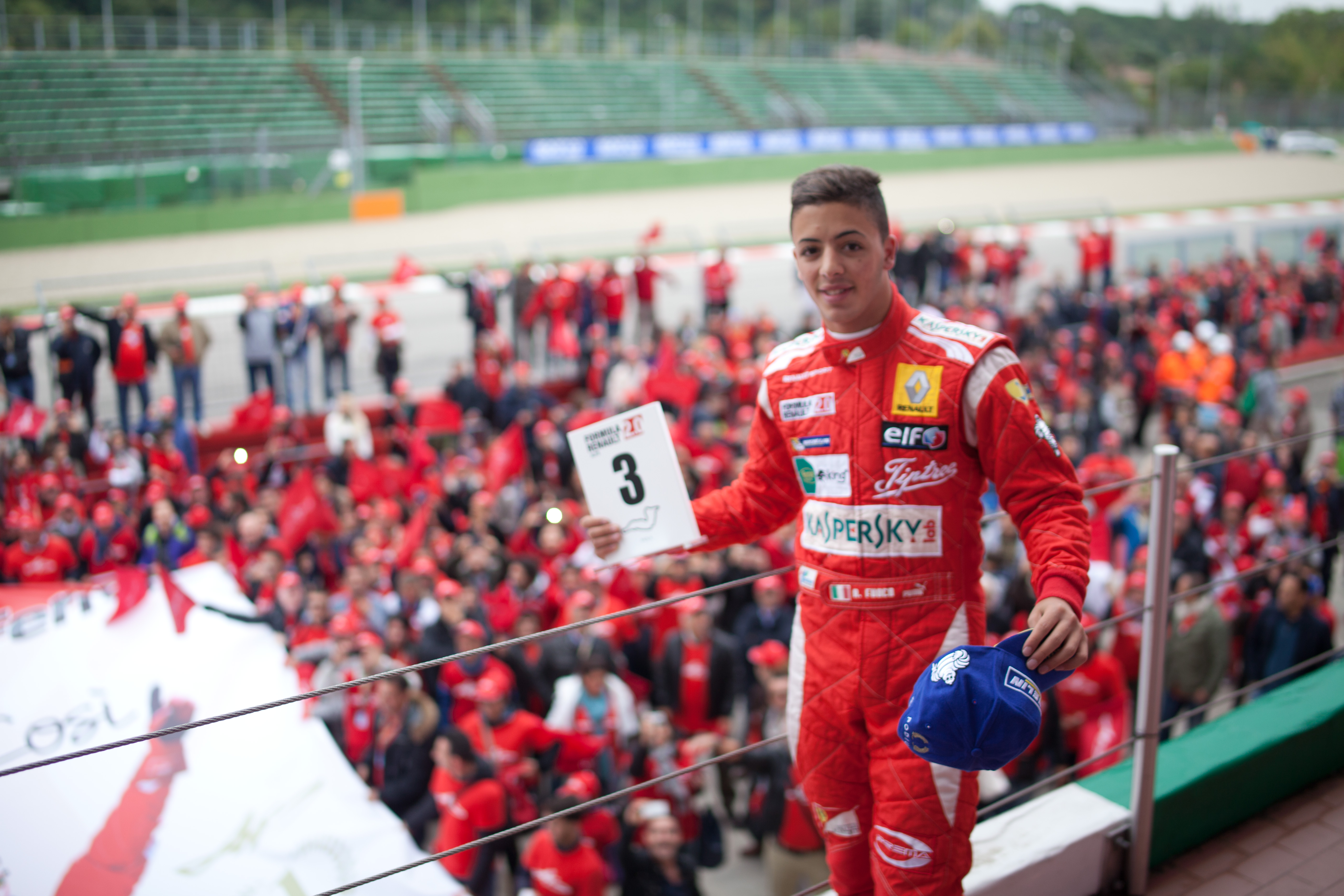 Antonio Fuoco alla scoperta della Formula 3