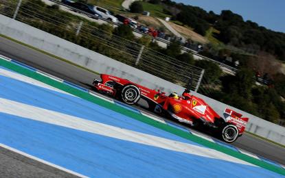 De la Rosa e Bianchi in pista in Bahrain