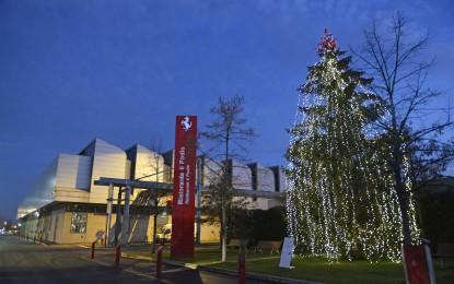 Natale in casa Ferrari
