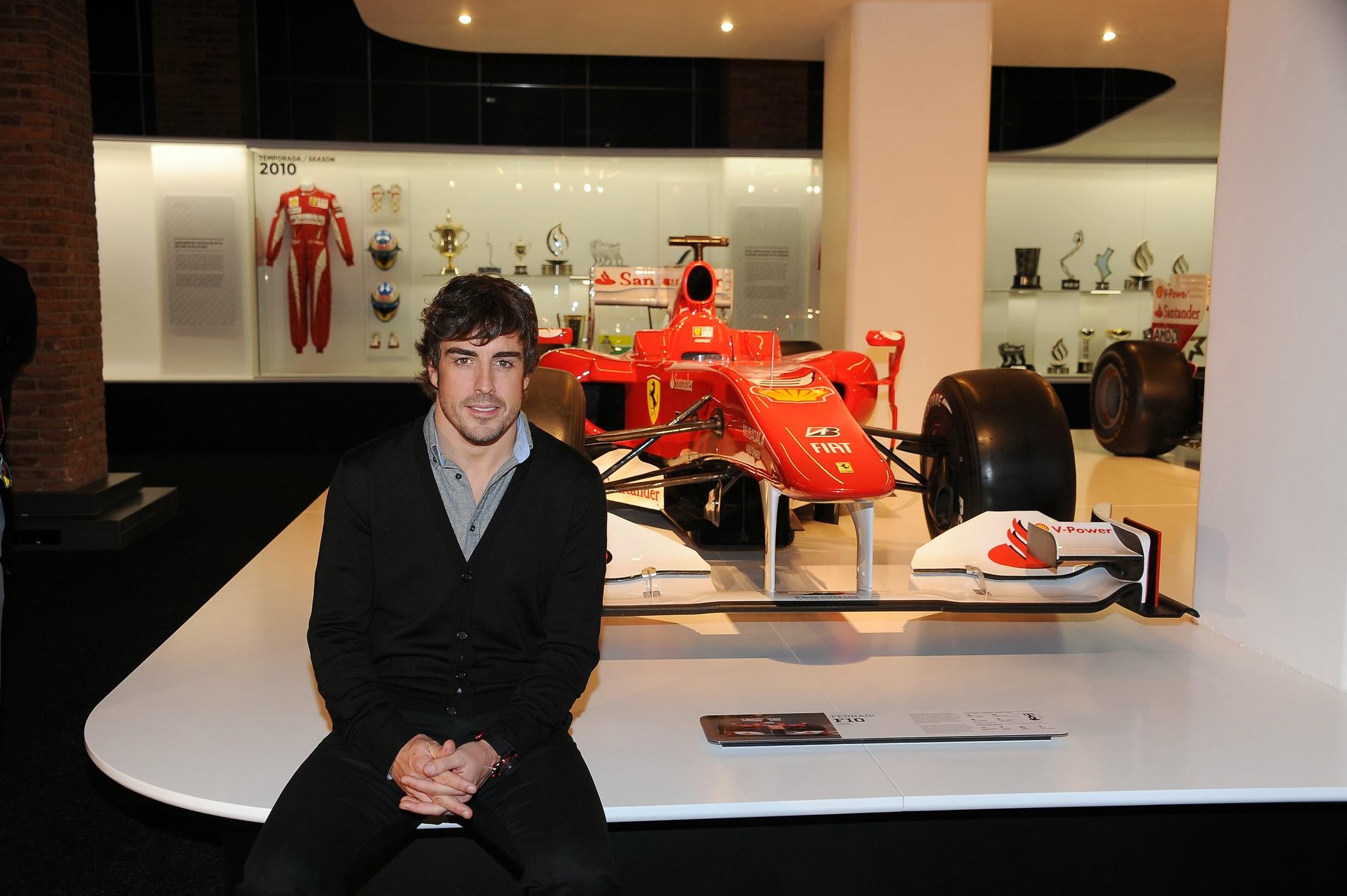Tutti a Madrid per la Fernando Alonso Collection!