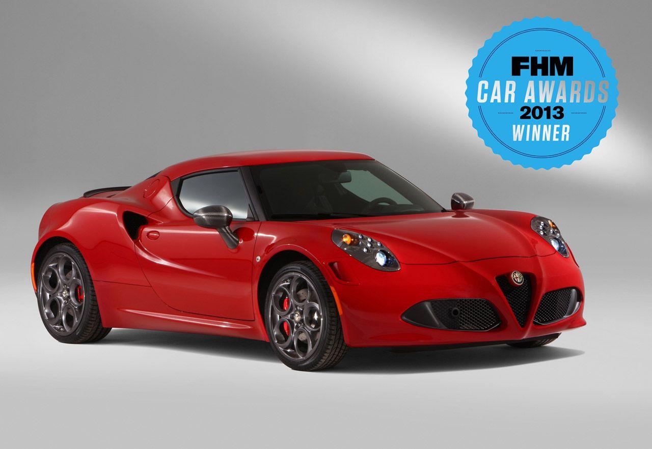 Alfa Romeo 4C 'Car of the Year 2013'