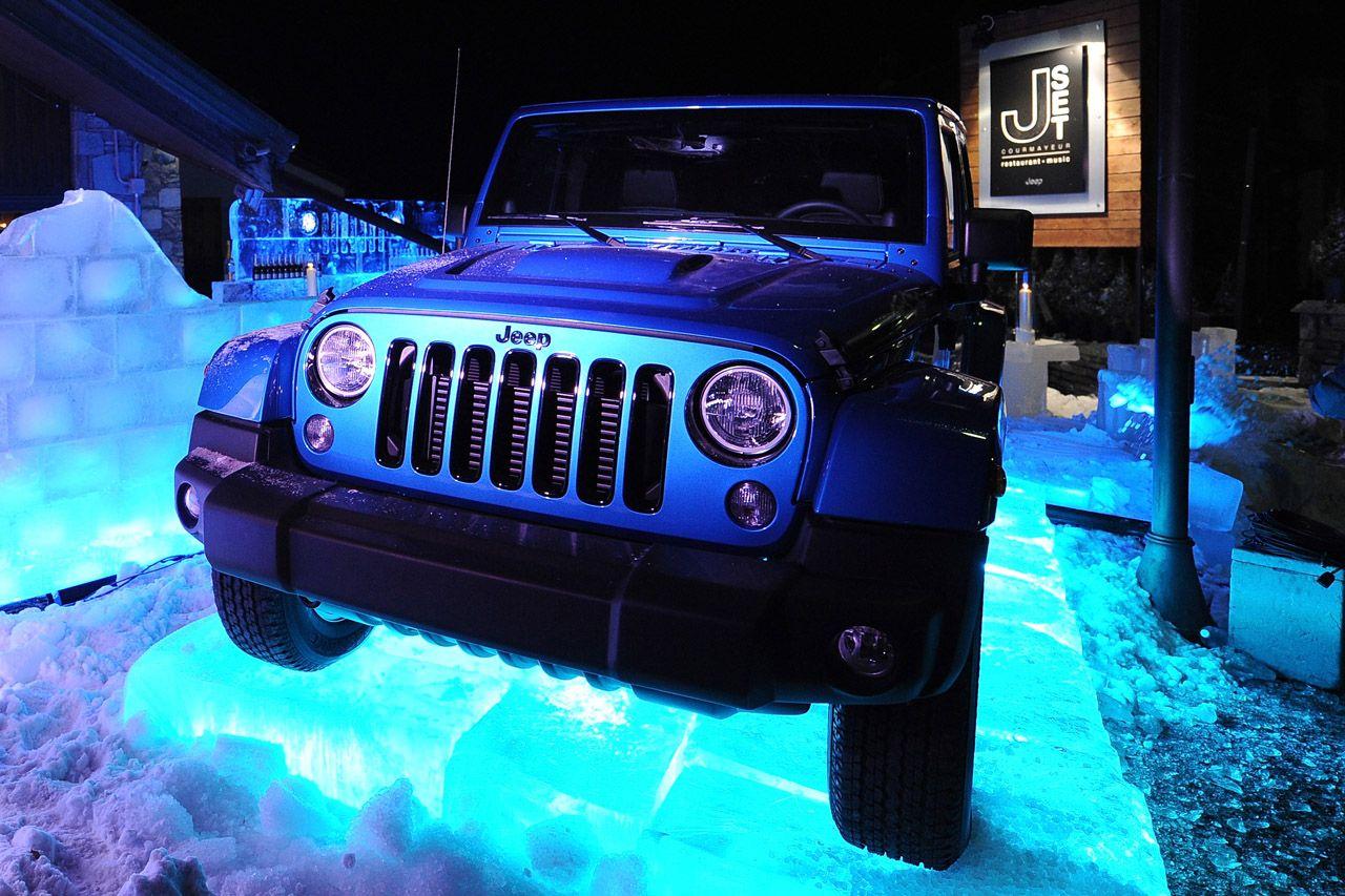 'JSet': il marchio Jeep protagonista dell'inverno 2014