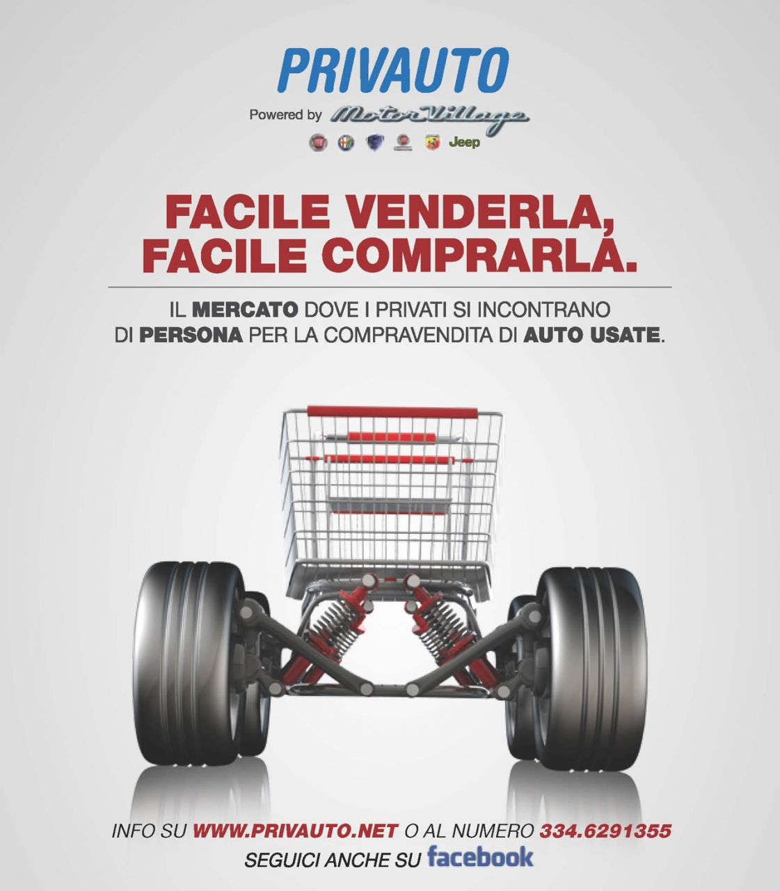Motor Village Italia presenta 'Privauto'