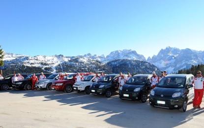 Il 'Fiat Top Ski Team' diventa internazionale