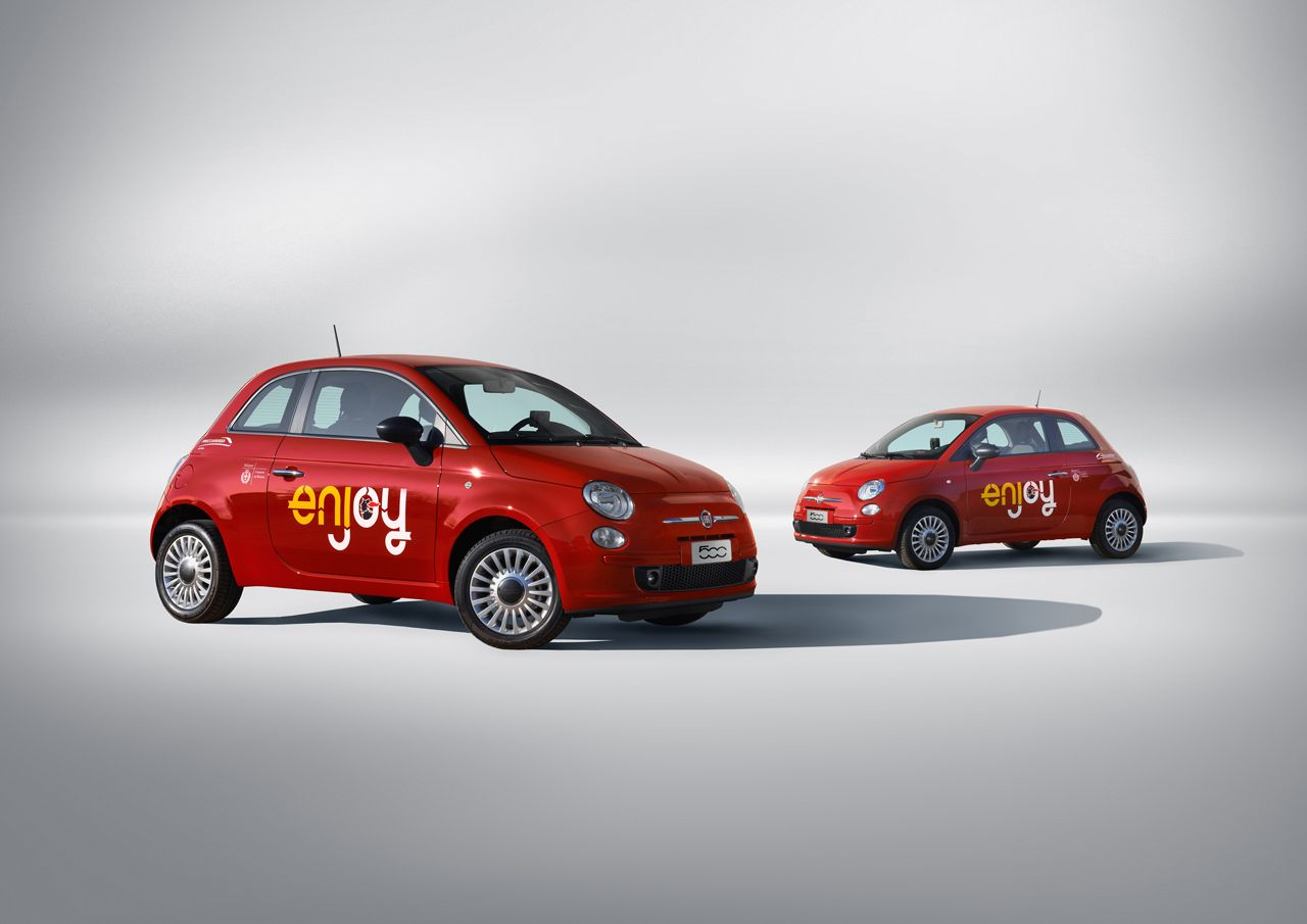 Parte Enjoy, il car sharing a Milano targato Eni