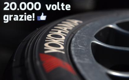 Per Yokohama Italia 20.000 fan su Facebook