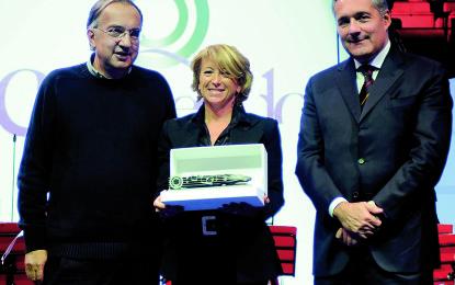 Fiat premia Brembo per la sostenibilità