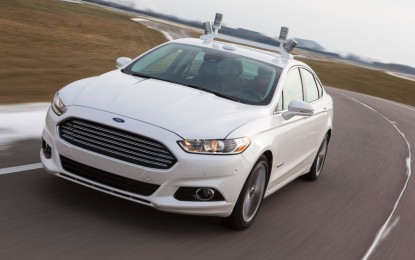 Ford Fusion Hybrid a guida completamente automatica