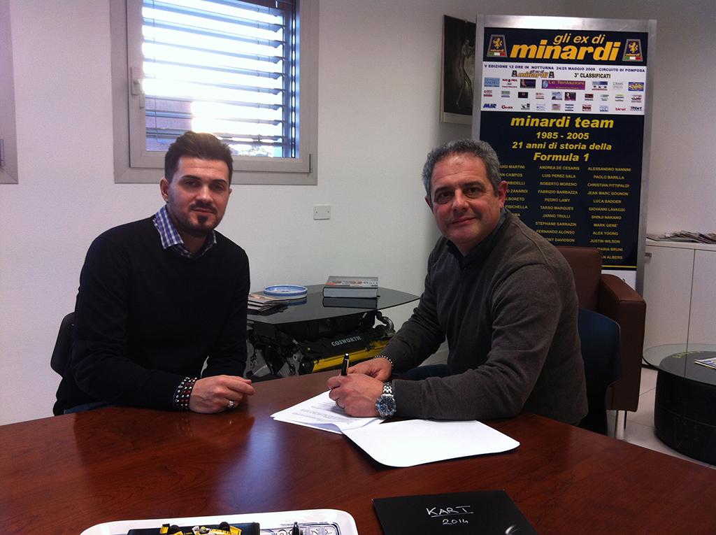 Minardi Management e Alberto Tonti per i campioni di domani