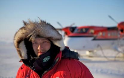 Ben Saunders raggiunge il Polo Sud