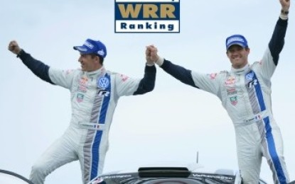 World Rally Ranking 2013: il numero 1 è Ogier