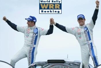 World Rally Ranking 2013: il numero 1 è Ogier