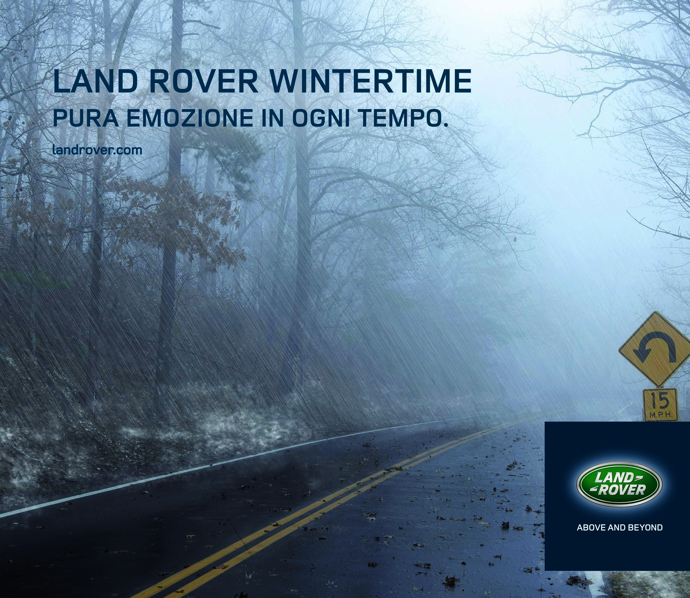 Jaguar Winter Tour e Land Rover Wintertime