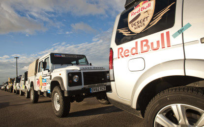 Land Rover partner ufficiale Team Red Bull Desert Wings