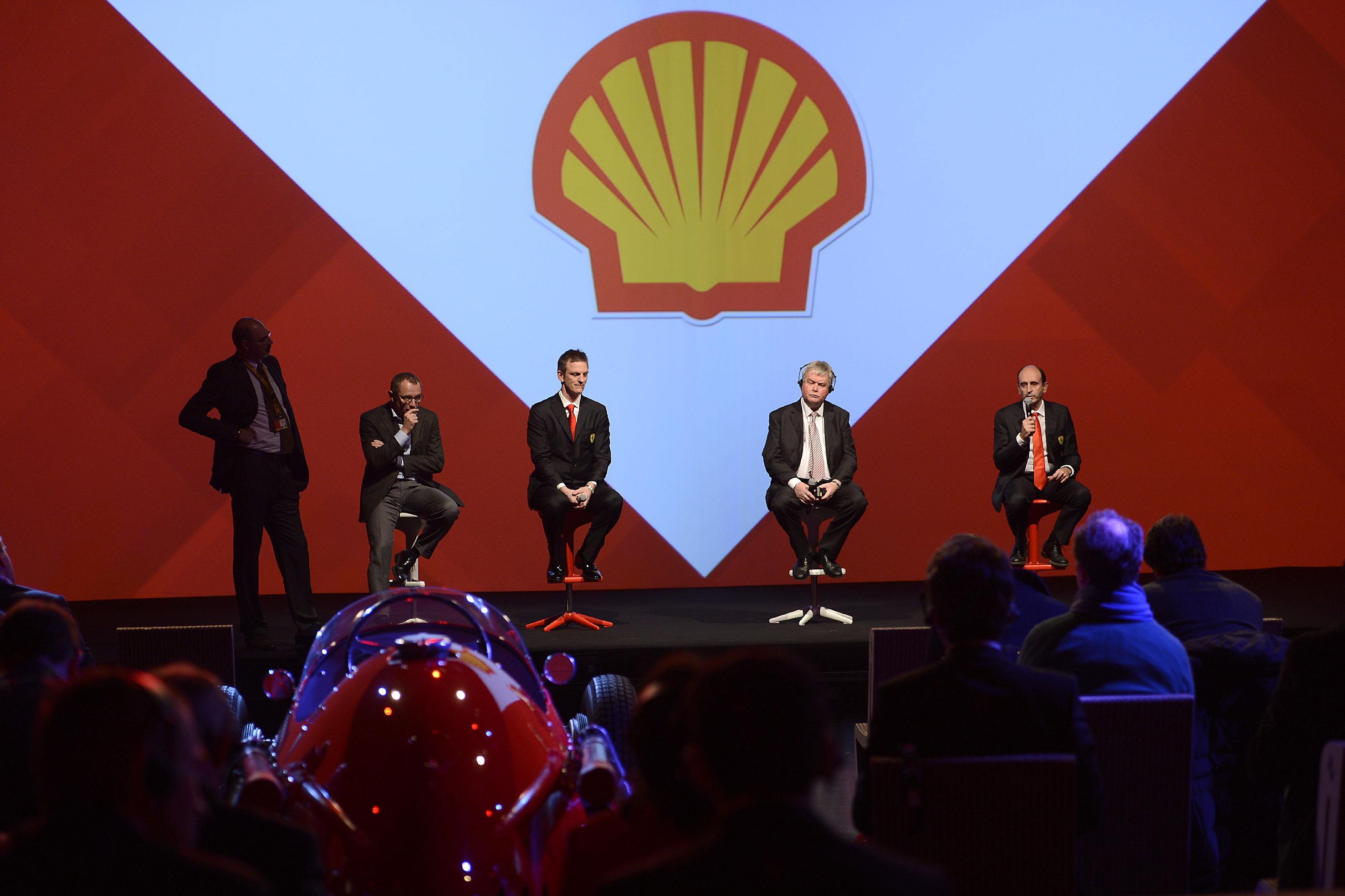 Le novità Shell per il motore Ferrari 2014
