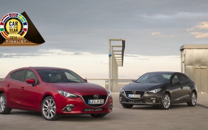 Mazda3 tra le finaliste Car of the Year 2014