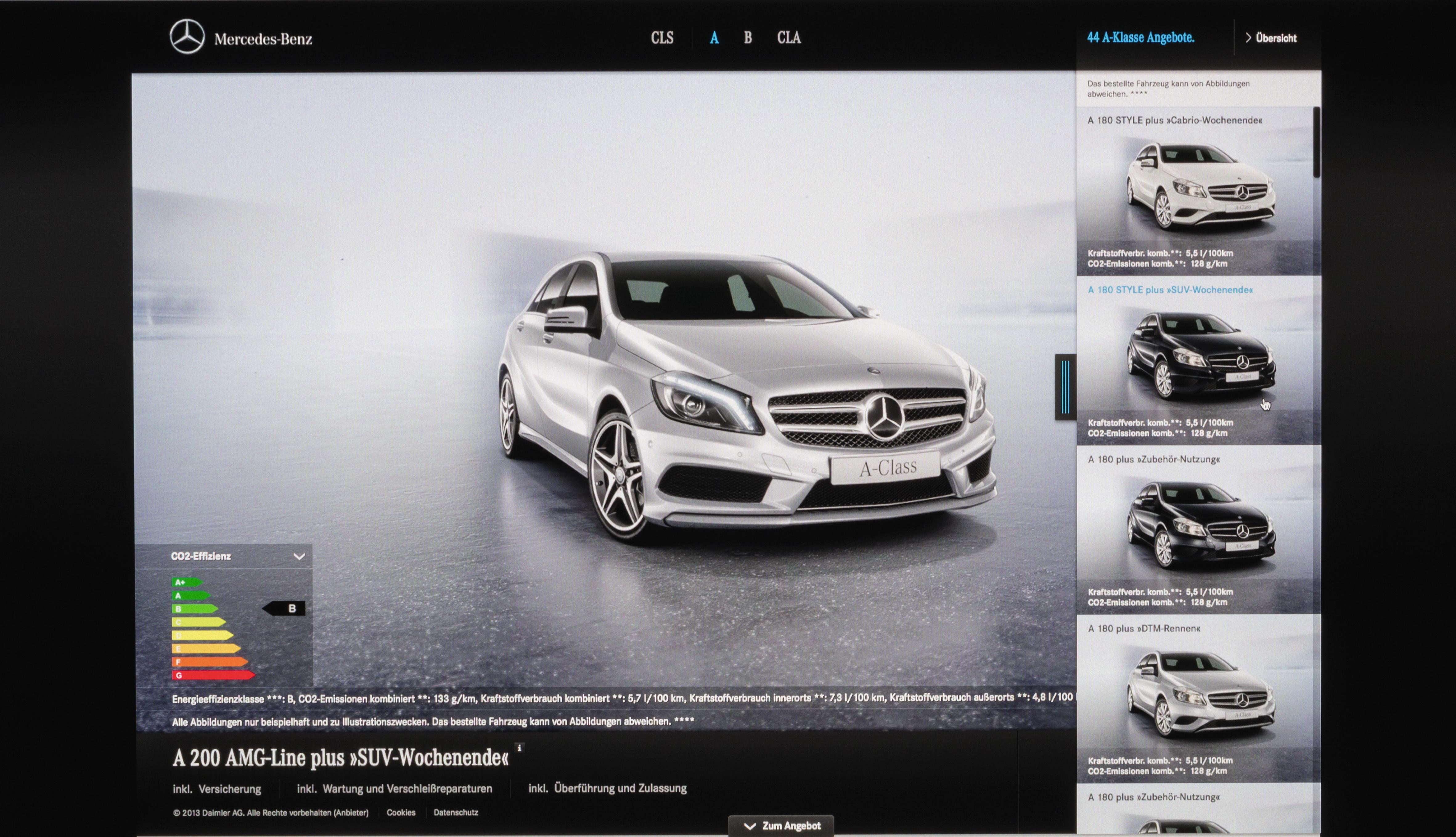 "Store online ""Mercedes-Benz connect me"""