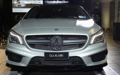Anteprima CLA 45 AMG