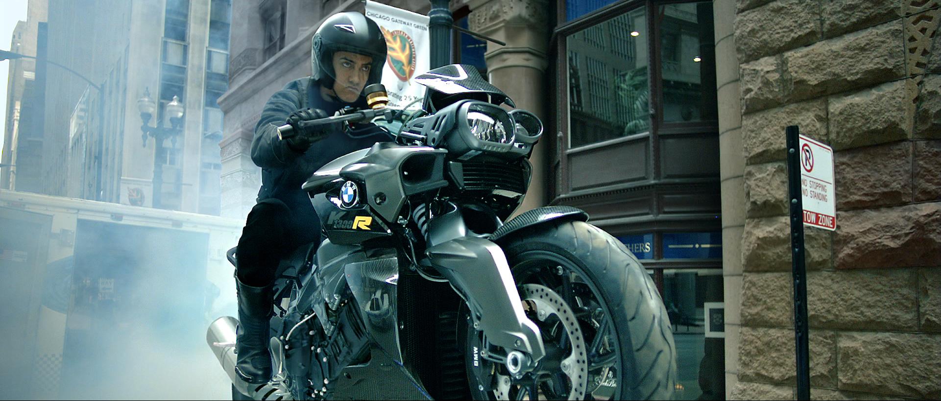 BMW Motorrad partner di 'Dhoom:3'