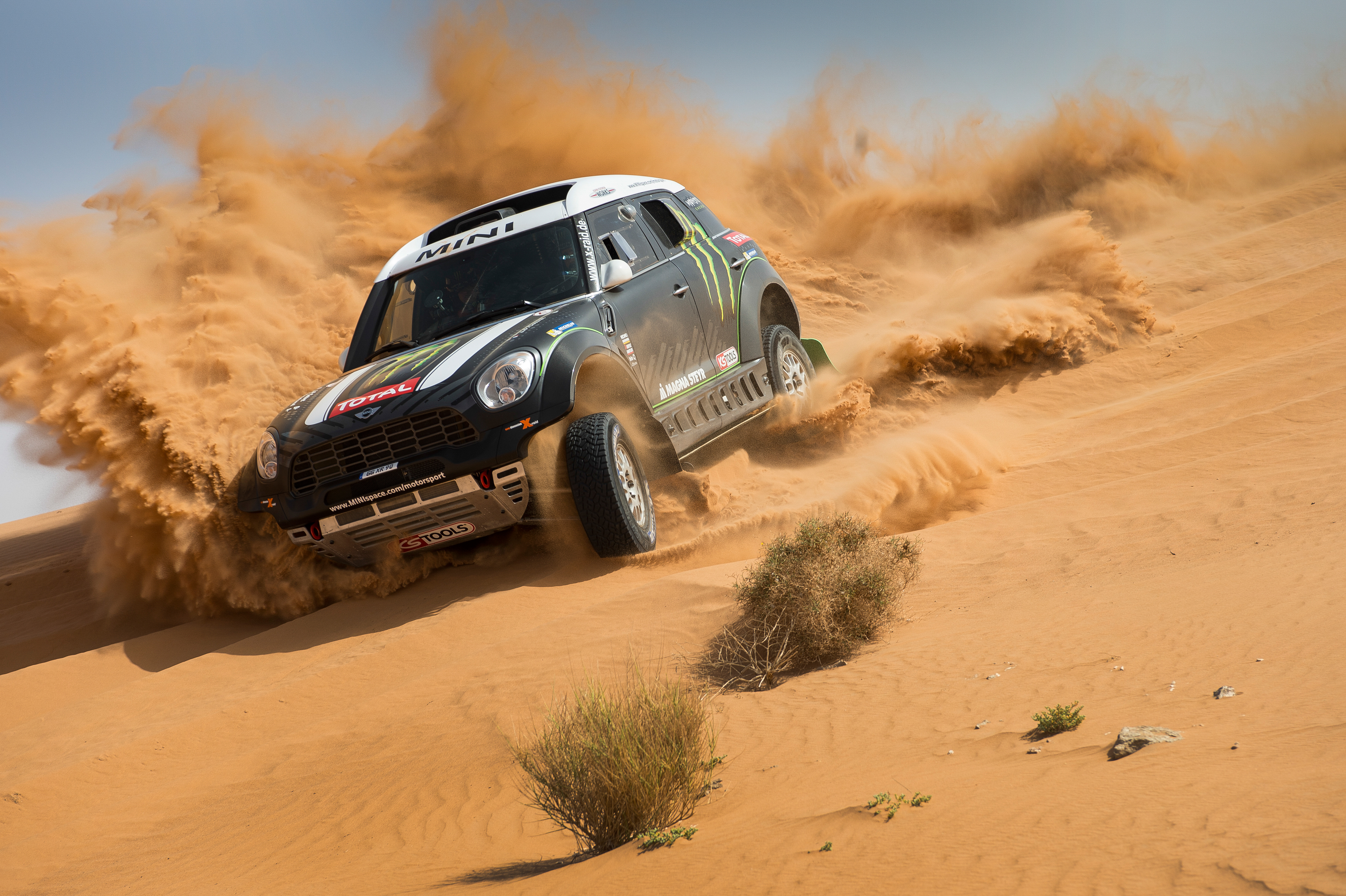 MINI e il Team X-raid al Rally Dakar 2014