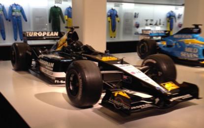 Gian Carlo Minardi alla mostra di Alonso