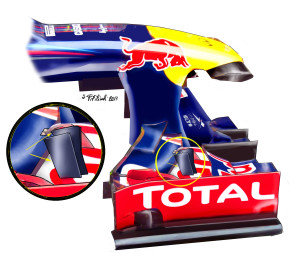 RB front  wing India
