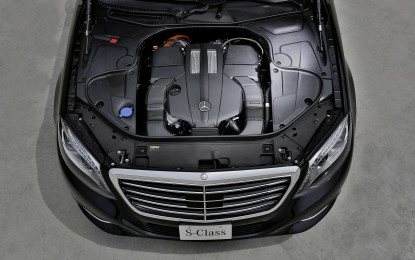 134 g/km: la media di Co2 dell'intera flotta Mercedes