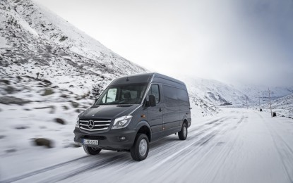 Nuovo Mercedes-Benz Sprinter 4×4