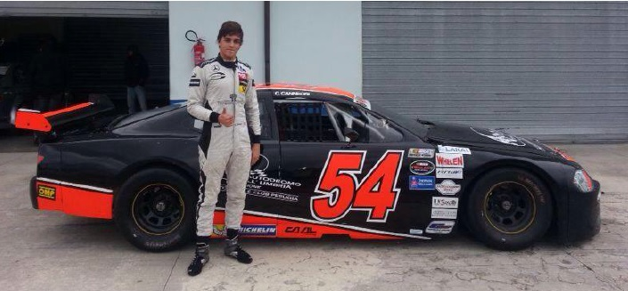 Eddie Cheever III in Nascar Whelen Euro Series con Caal Racing