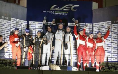Rigon saluta il FIA WEC con il 2° posto e il Titolo per 8Star