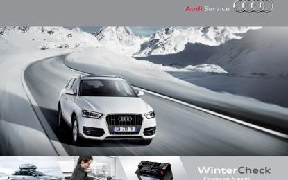 Audi WinterCheck, inverno in sicurezza