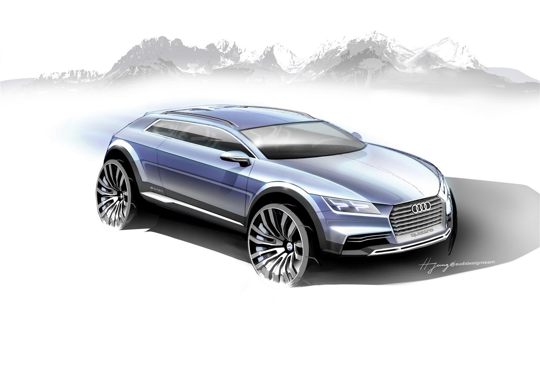 Nuova show car Audi, sportività e design