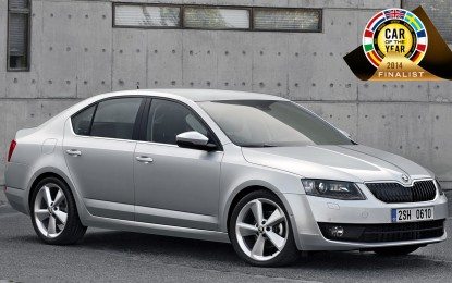 Nuova ŠKODA Octavia finalista a 'Car of the Year 2014'