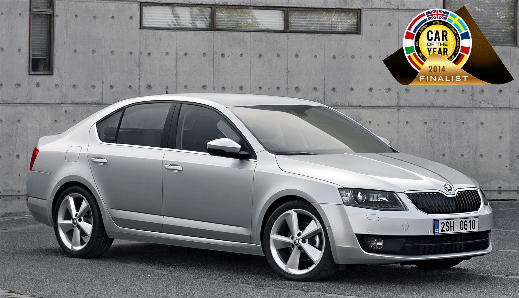 Nuova ŠKODA Octavia finalista a 'Car of the Year 2014'