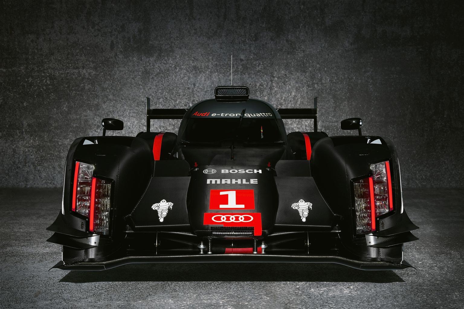 La nuova Audi R18 e-tron quattro