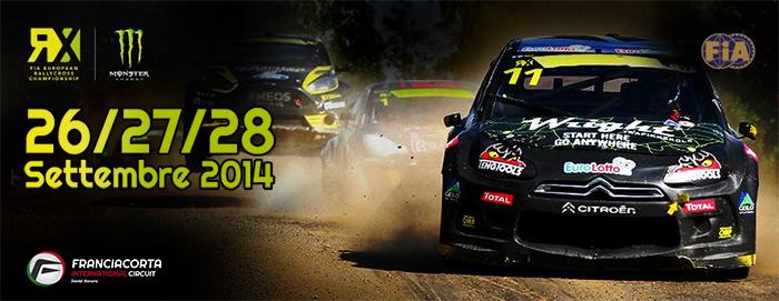 Tappa italiana del Mondiale Rallycross a Franciacorta