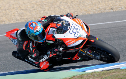 Ultimi test per l'Aprilia Racing Team