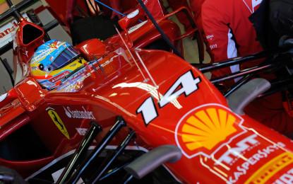 Alonso si emoziona ancora