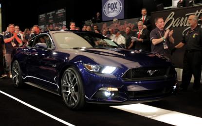 Nuova Mustang, primo esemplare battuto a 300.000 dollari