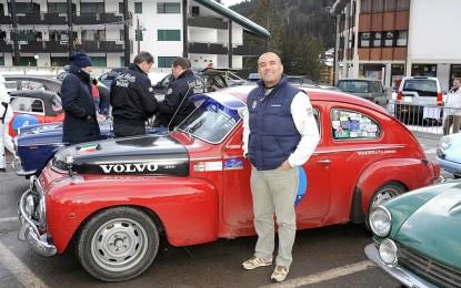 Capelli torna al volante di una Volvo d'epoca alla Winter Marathon