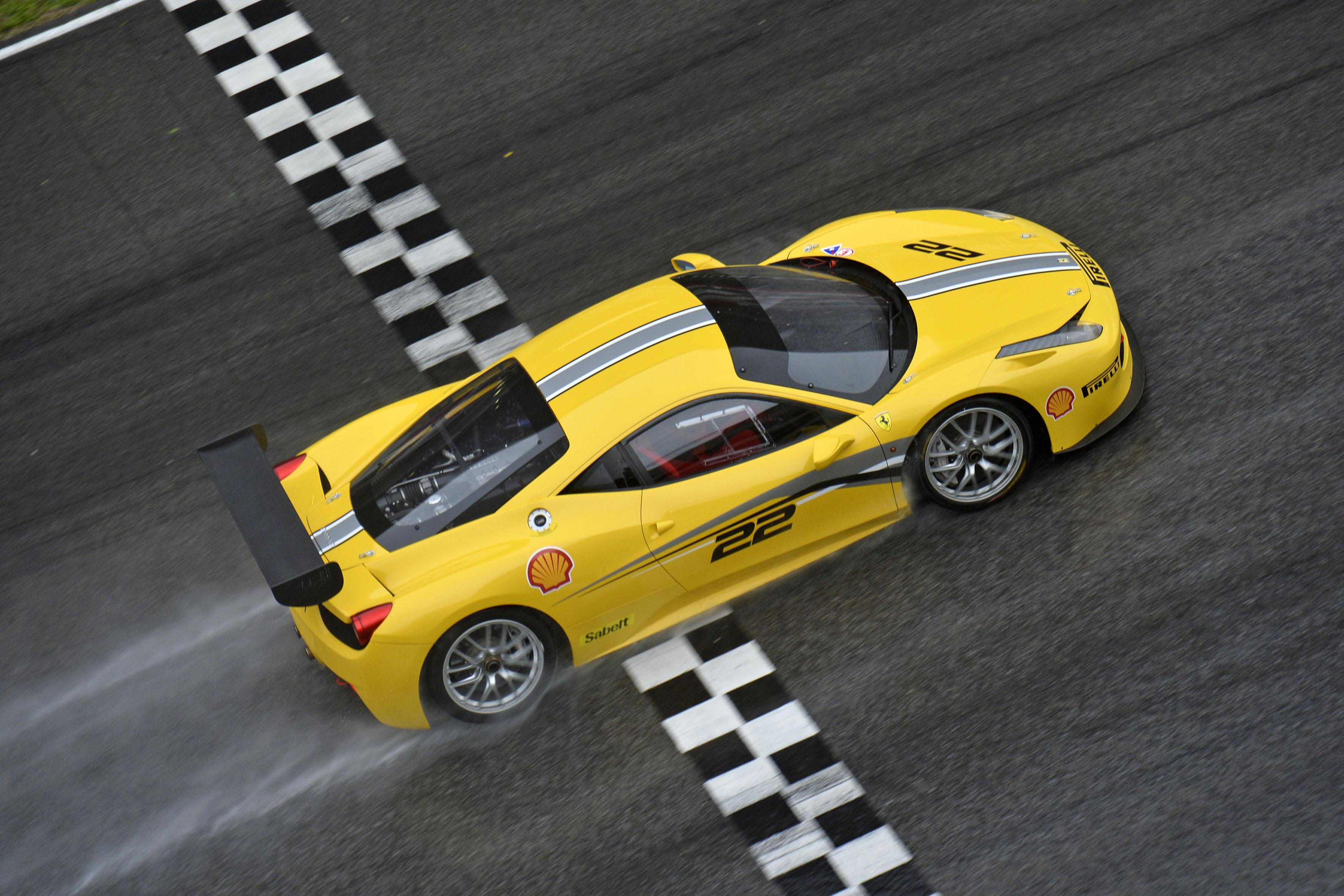 A Daytona, via al Ferrari Challenge 2014