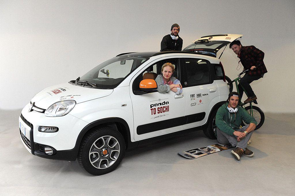 Fiat Panda 4×4 Antartica da Torino a Sochi