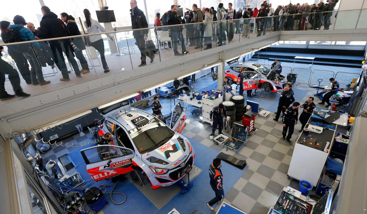 Il Team Hyundai si prepara per la Svezia