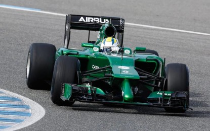 Il Caterham F1 Team lancia la CT05