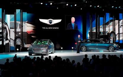 Detroit: nuova Hyundai Genesis