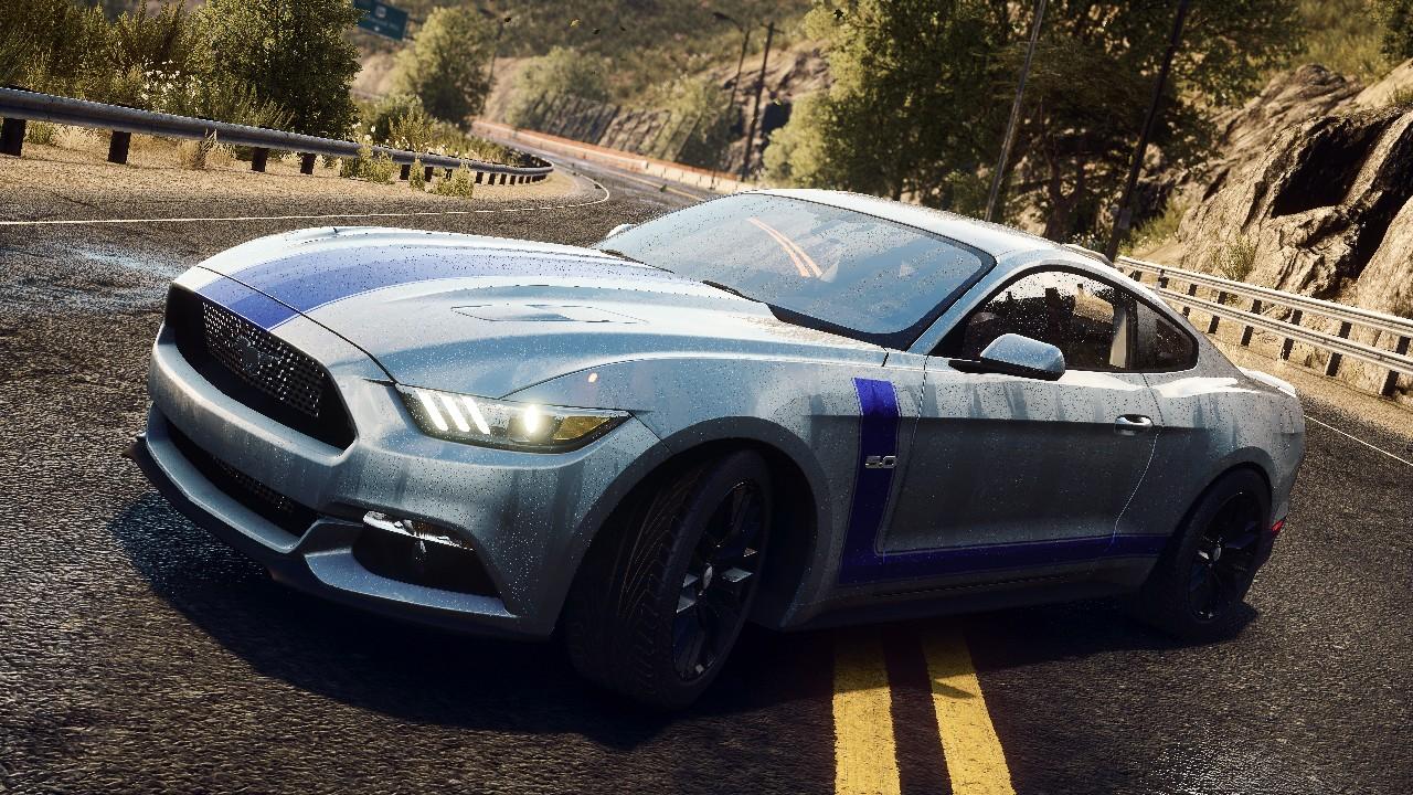 Nuova Mustang: grande schermo e videogame